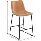 Temple & Webster 66cm  Phoenix Vintage-Style Barstools