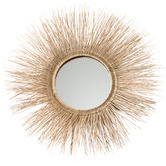 Temple & Webster Lilou Rattan Wall Mirror