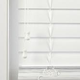 Temple & Webster White Faux Wood Venetian Blind