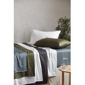 Temple & Webster Bamboo & Cotton Sheet Set