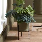 Temple & Webster 35cm Bloom Plant Pot on Stand