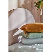 Temple & Webster Minnie Tasselled Velvet Cushion