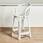 Temple & Webster 66cm Keilani Rattan Counter Stool