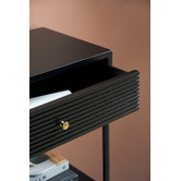 Temple & Webster Black Immy Console Table