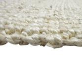 Temple & Webster Bleached Watson Hand-Woven Jute Rug