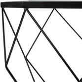 Temple & Webster Pantheon Glass-Top Coffee Table