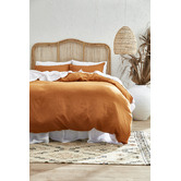 Temple & Webster Natural Marley Rattan Bedhead