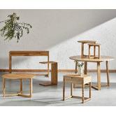 Temple & Webster 2 Piece Olwen Side Table Set