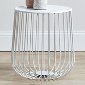 Temple & Webster Trevi Wire Side Table