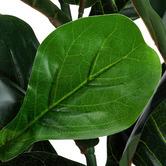 Temple & Webster 120cm Potted Faux Fiddle Leaf Fig Tree