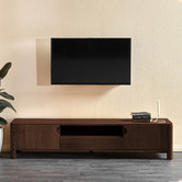 Temple & Webster Eve Solid Timber Entertainment Unit