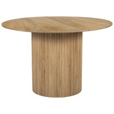 Temple & Webster Anika 120cm Round Dining Table