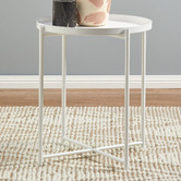 Temple & Webster Maximus Steel Side Table