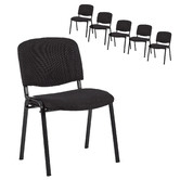 Temple & Webster Stackable Office Conference Chairs
