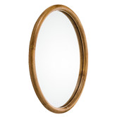 Temple & Webster Arlo Round Rattan Wall Mirror