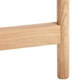 Temple & Webster Natural Nibesh Oak Wood Side Table