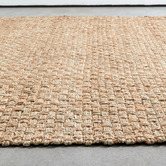Temple & Webster Natural Colt Chunky Hand-Woven Jute Rug