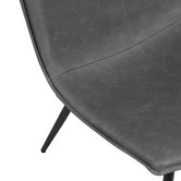 Temple & Webster Frankie Faux Leather Resting Armchair