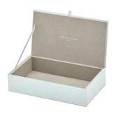 One Six Eight London Medium Geo Glass Jewellery Box