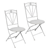 High ST. Herald Metal Patio Chairs
