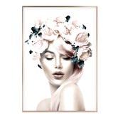 Iconiko Miss Rose Framed Print