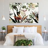 Iconiko Botany Bloom Framed Canvas Wall Art