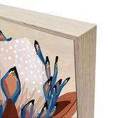 Iconiko Cyprus Protea Framed Canvas Wall Art