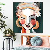 Iconiko Lotti Framed Canvas Wall Art
