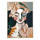 Iconiko Aromanda Framed Canvas Wall Art