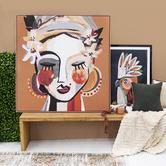 Iconiko Cotti Framed Canvas Wall Art