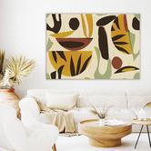 Iconiko Lemongrass Canvas Wall Art