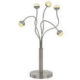 Bright Sea Lighting Oko 5 Light Aluminium Table Lamp