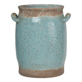 Chartwell Home 30cm Pale Turquoise Cadence Ceramic Vase