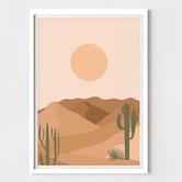 Maddison Lane White Poster Frames
