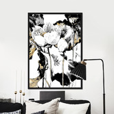 Maddison Lane Flower Framed Canvas Wall Art
