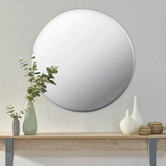 Maddison Lane Issy Urban Round Frameless Wall Mirror
