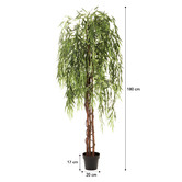 Maddison Lane 180cm Potted Faux Weeping Willow Tree
