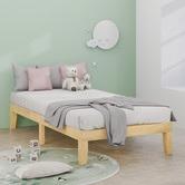 Studio Home Natural Belvedere Wooden Bed Frame