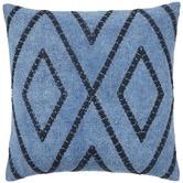 Weave Blue Shiso Cotton Cushion