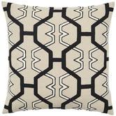 Weave Black Zulu Cotton Blend Cushion