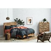 Weave Plain Bold Zoe Velvet Cushion