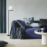 Weave Impasto Velvet Cushion