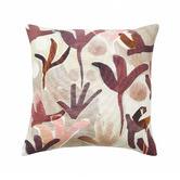 Weave Berry Nopi Linen-Blend Cushion