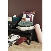 Weave Verso Cotton-Blend Cushion