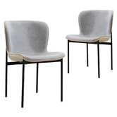 Nordic House Maine Mid-Century Dining Chairs