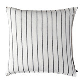 L & M Home Woven Loft Linen-Blend Cushion