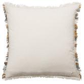 L & M Home Sand Amalfi Wool-Blend Cushion