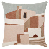L & M Home Palazzo Cotton & Wool Cushion