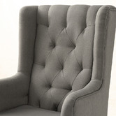 Oakleigh Home Kaleb Upholstered Rocking Armchair