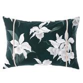 Grace By Linen House Mist Cattleya Cotton Sateen Cushion